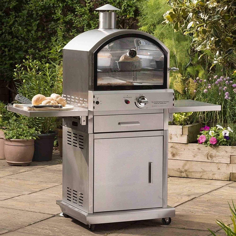 Lifestyle cs406 Milano Gas BBQ Pizza oven lfs690: Amazon.nl