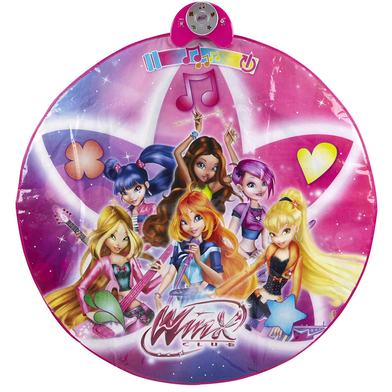 Winx Groove and Glow Dance Mat Creative Designs Inc. (CDI) 78521