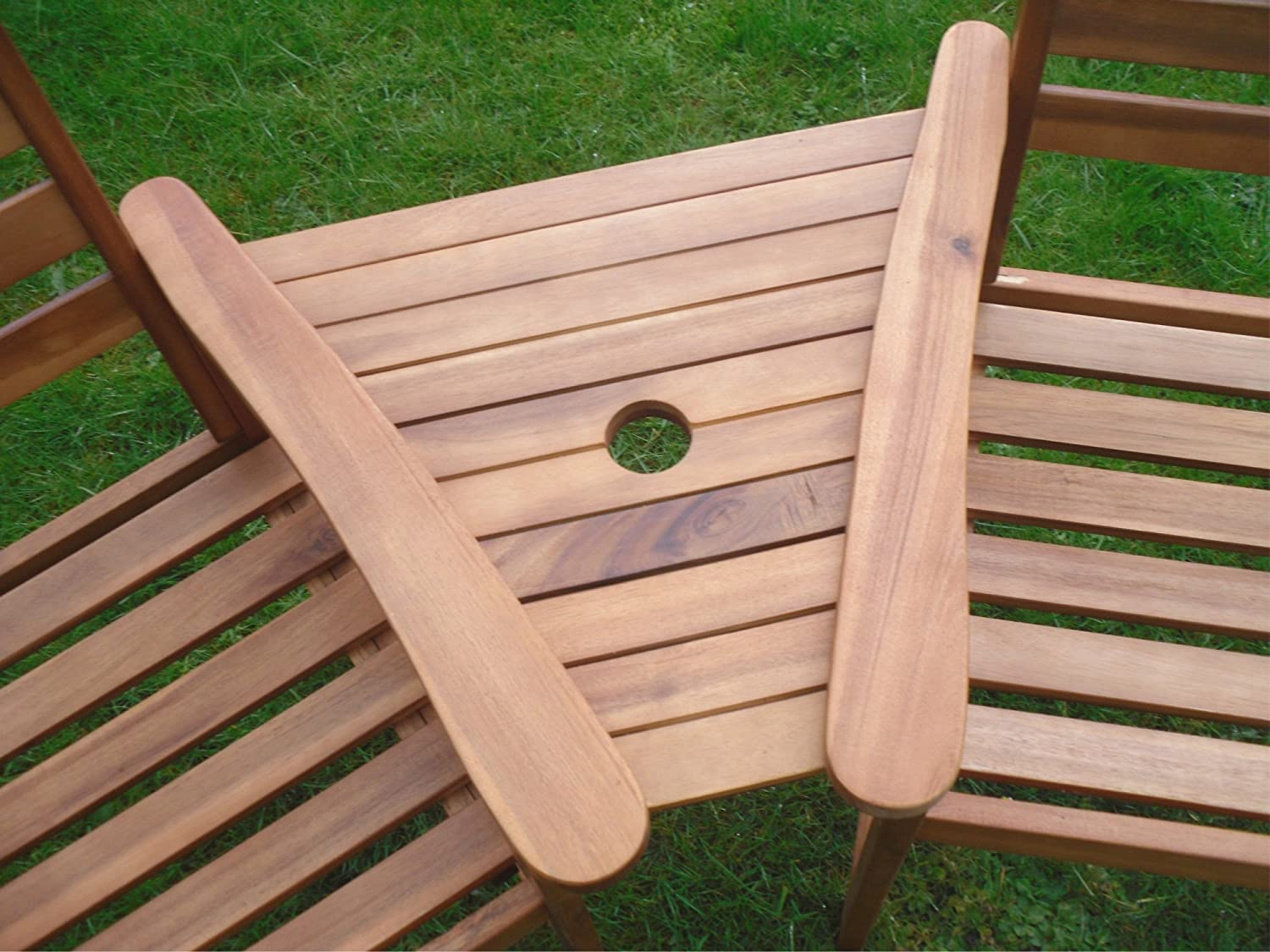 hardwood garden bench companion set love seat great outdoor - Wooden Garden Furniture Love Seats