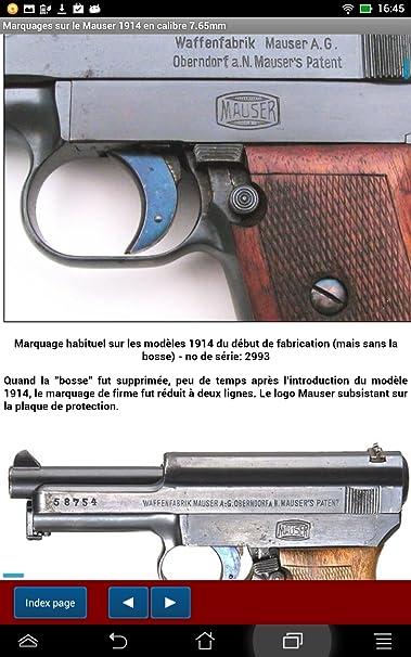 Amazon com: Le pistolet Mauser modèle 1914 expliqué