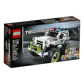 LEGO® Technic Police Interceptor 42047 Car Toy, Storage ...