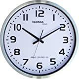 Technoline Wt 8995 - Reloj de Pared, color plateado
