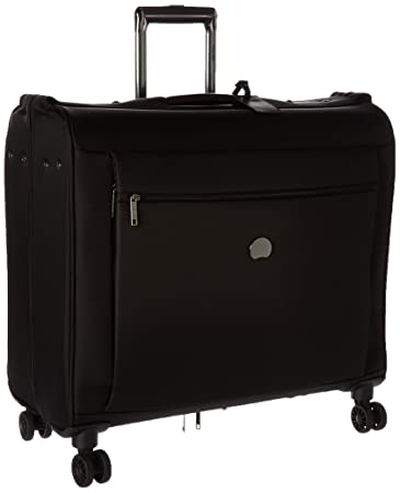 Delsey Luggage Montmartre Spinner Garment Bag Suit Or Dress, Black
