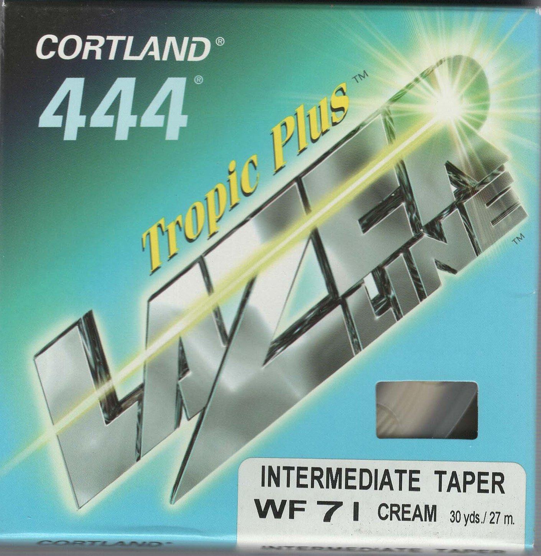 Cortland 444 Tropic Plus lazerline中間wf7iフライラインCreme   B076ZVB5K6