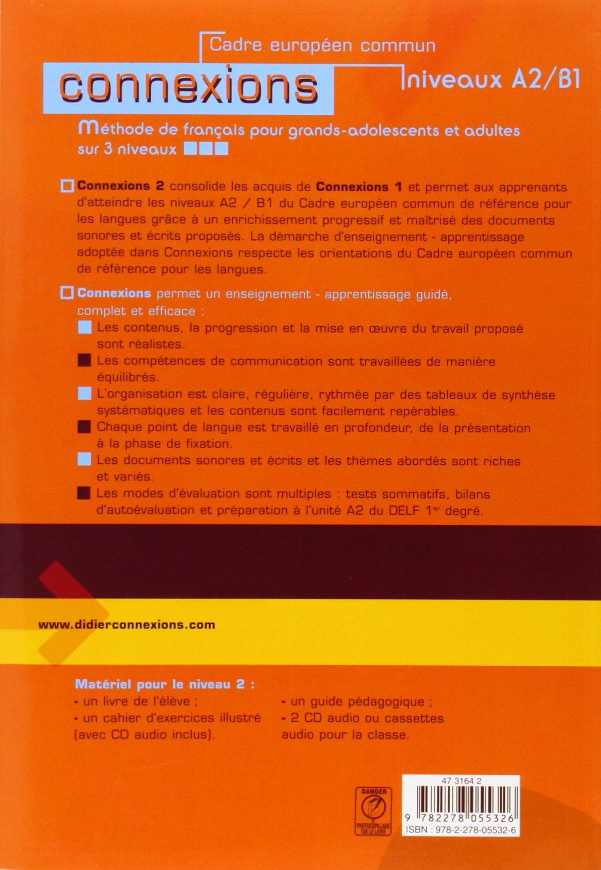 Connexions methode de francais niveau 2 amazon regine connexions methode de francais niveau 2 amazon regine merieux yves loiseau 9782278055326 books fandeluxe Images