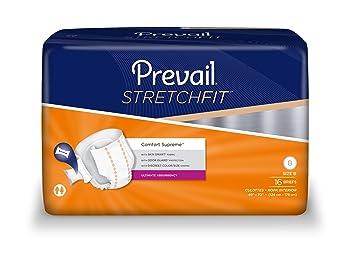 Prevail StretchFit Comfort Supreme Briefs, Size B (1/Case of 96)