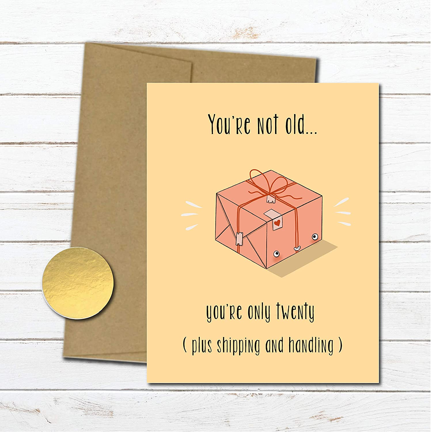 Amazon Com Sarcastic Birthday Card For Mom Dad Gift For