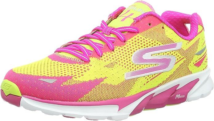 Skechers Go Run 4-2016, Zapatillas de Running para Mujer: Amazon.es: Zapatos y complementos