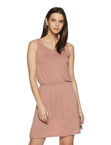 f5c4fdde20b77 Vero Moda Women s A-Line Dress  Amazon.in  Clothing   Accessories