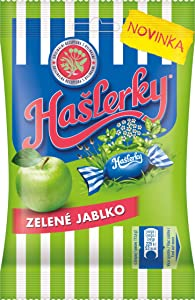 Nestle Haslerky Green Apple Herb and Menthol Flavour Candy 90 g