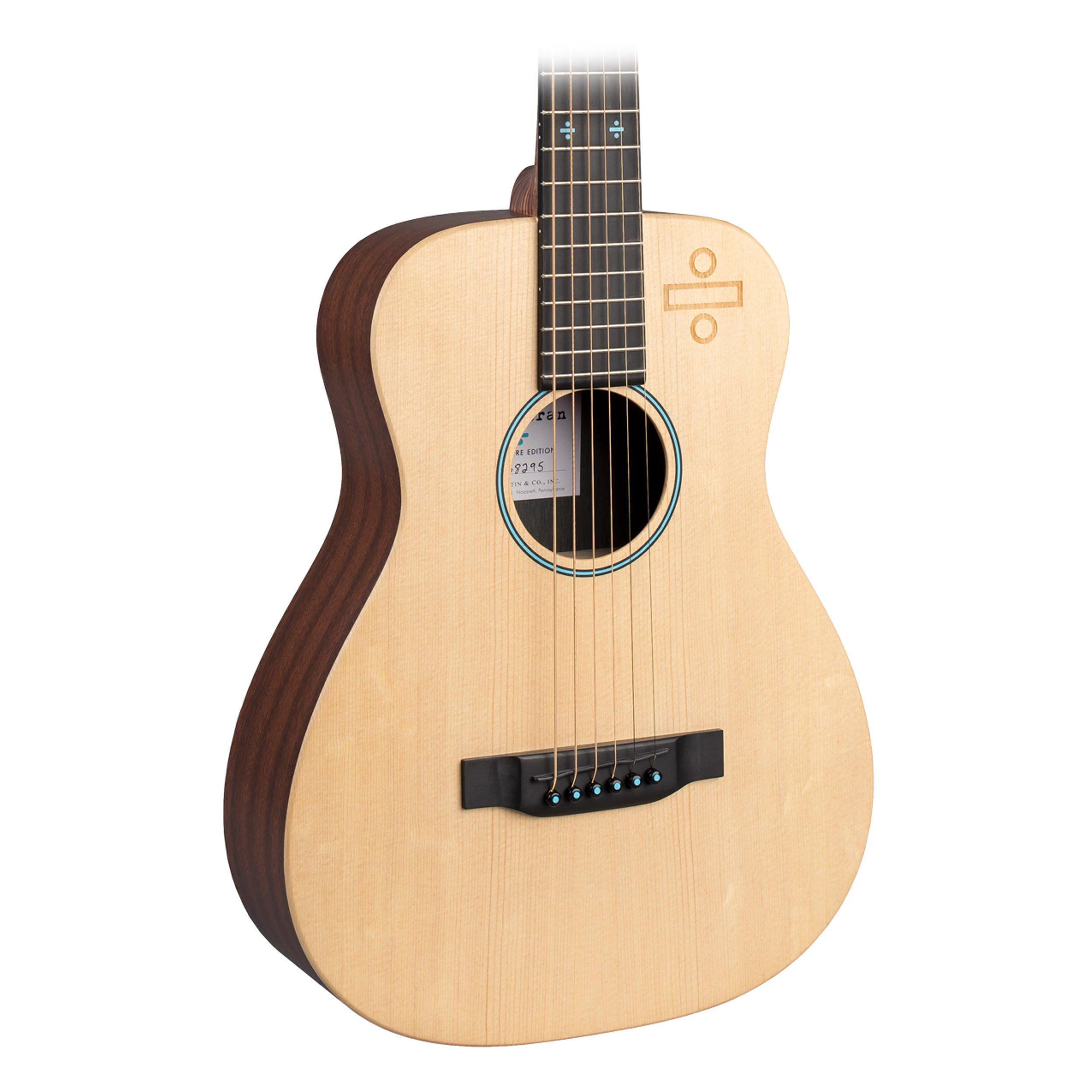 Martin Ed Sheeran 3 Divide / Signature Edition Little Martin Acoustic-Electric Guitar Natural by Martin