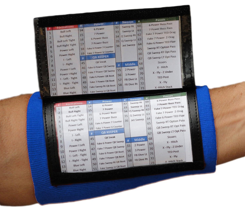 Amazon.com : SteelLocker Sports X200 Adult Playbook Wristband ...