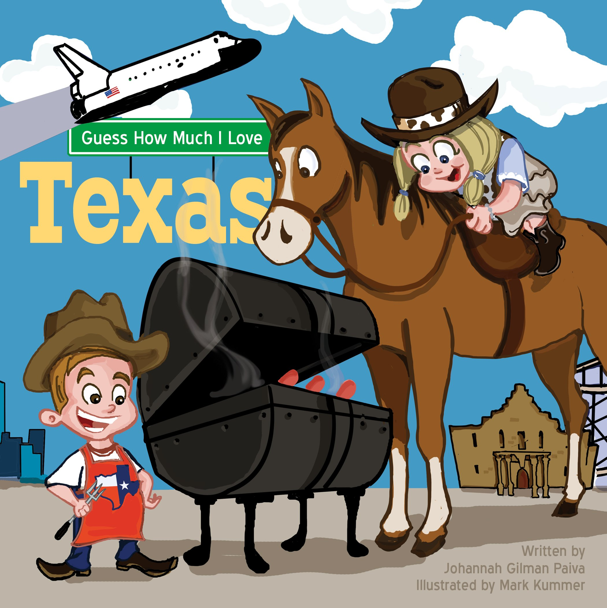 Guess How Much I Love Texas pdf epub