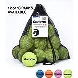 Gamma Bag of Pressureless Tennis Balls - Sturdy & Reuseable Mesh Bag with Drawstring for Easy Transport - Bag-O-Balls…