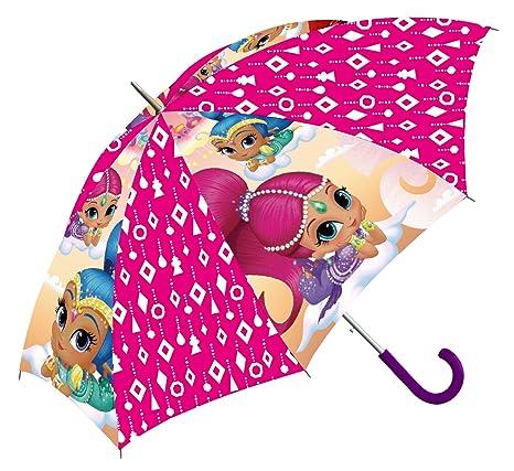 Kids Shimmer & Shine Paraguas clásico, 66 cm, Rosa