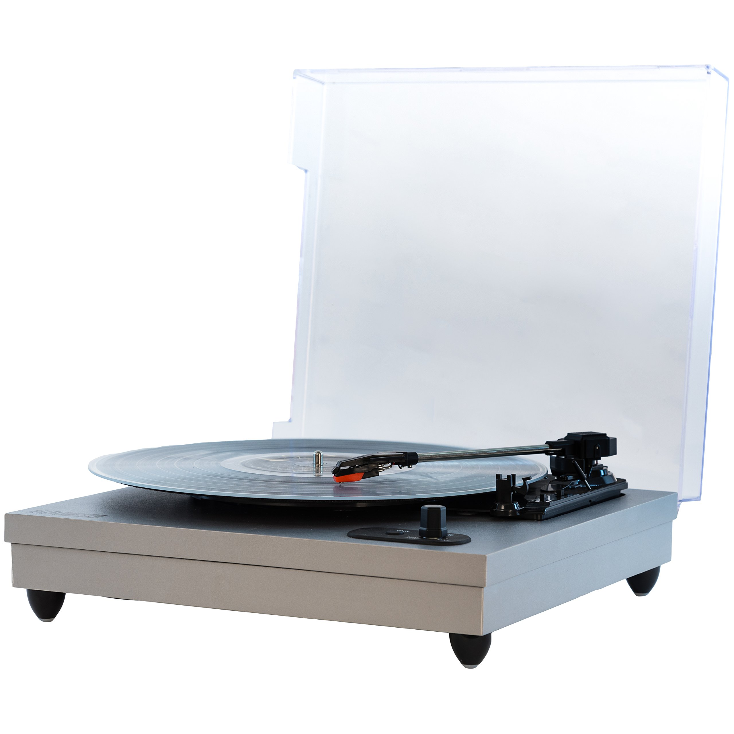 Altec Lansing ALT-500 Classic Turn Bluetooth Turntable with Built-In Stereo Speakers