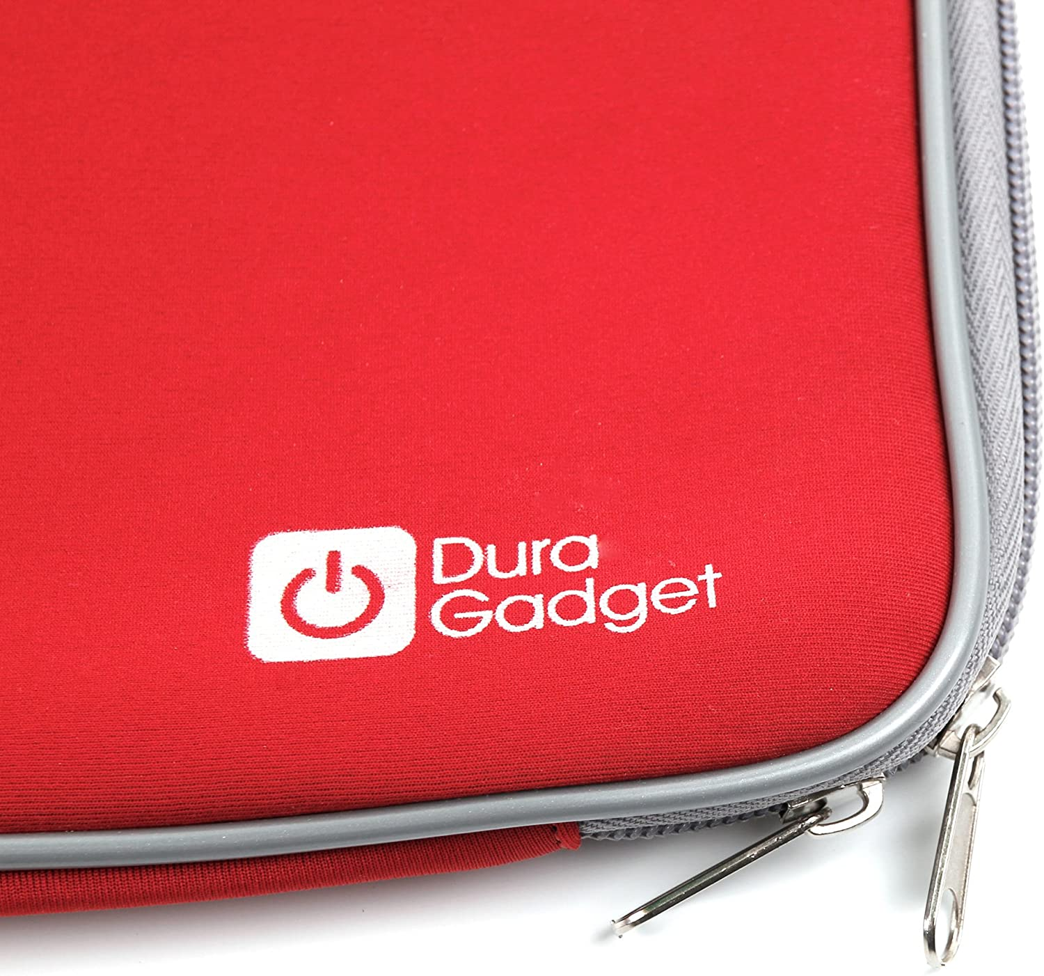 DURAGADGET Red Ultra Protection Water-Resistant Laptop Carry Case for Acer Aspire 57 Ultrabook//Acer Aspire ES1-311