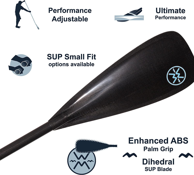 Werner Trance 95 Adjustable Carbon Stand-Up Paddle
