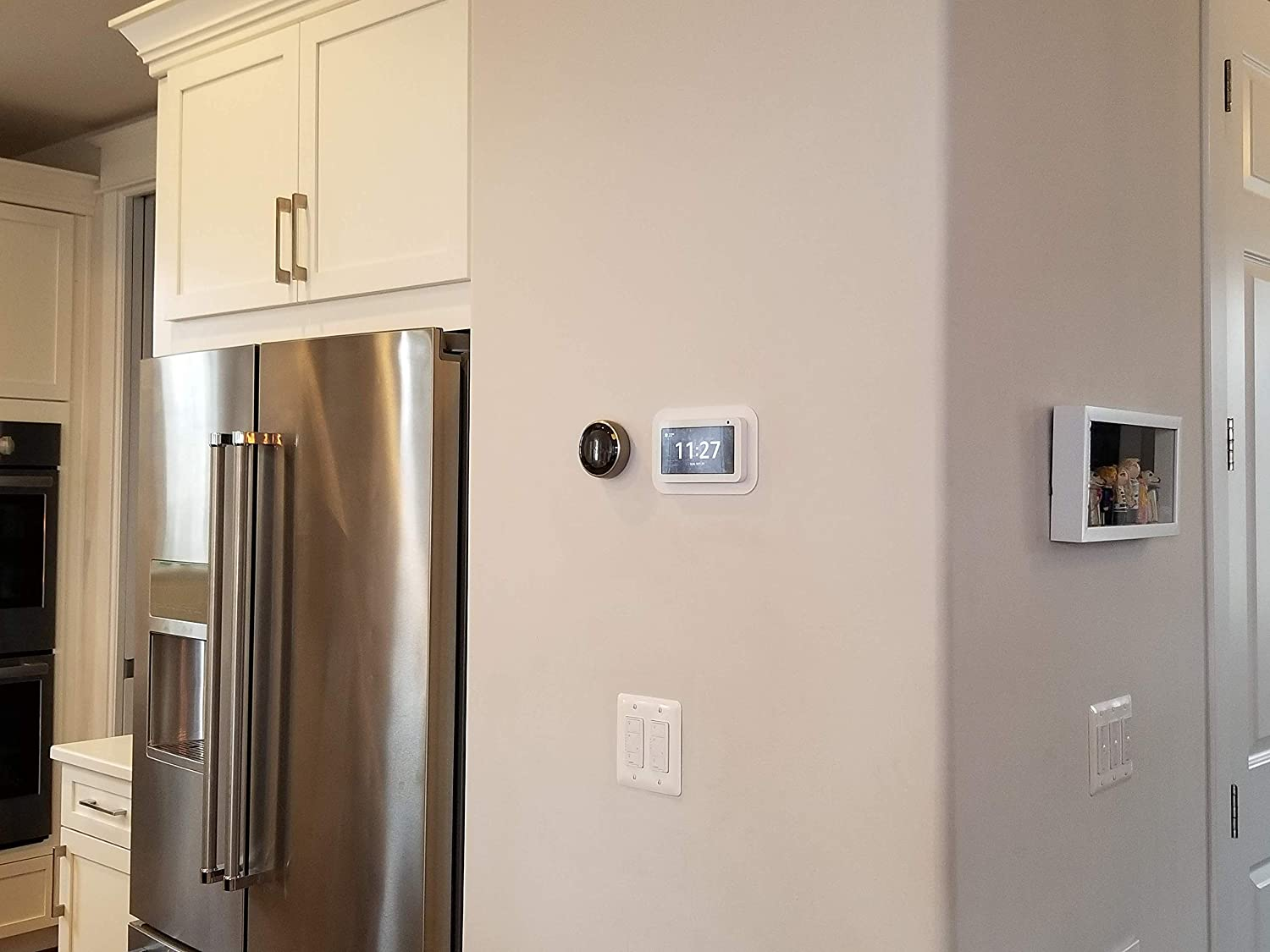 PoE Option Available Mount Genie Simple Built-in Show 5 Wall Mount The Perfect Smart Home Command Center