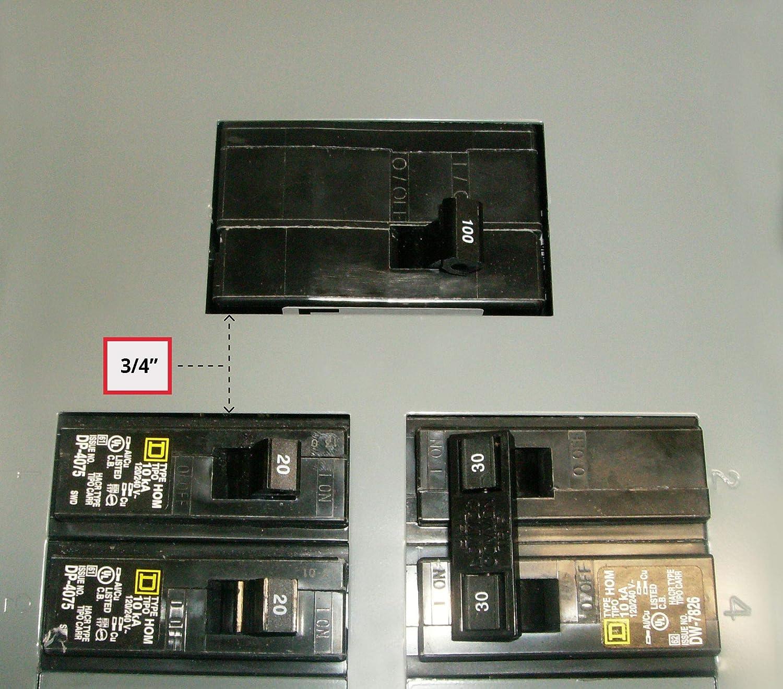FAC-HOM100 Square D Homeline Generator interlock kit 100 Amp Panel  Listed