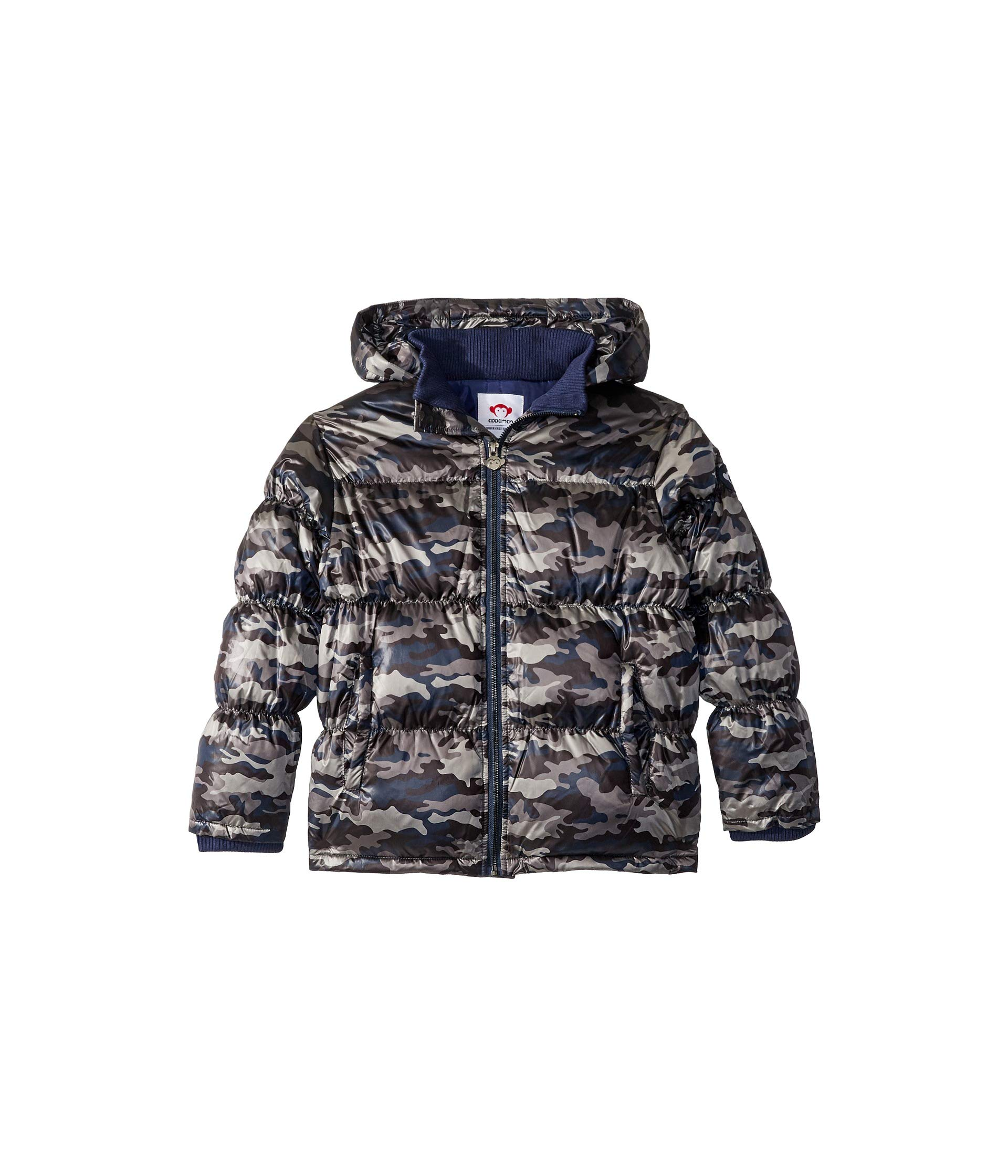 Appaman Kids Baby Boy's Soft Base Camp Puffer Jacket with Front Pockets (Toddler/Little Kids/Big Kids) City Nights Camo 5