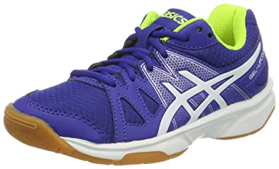 Boys' Upcourt Badminton ShoesMulticolourbluewhite Gel Asics Gs JcKF1l