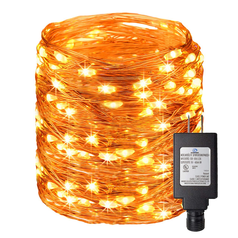 Amazon.com: Ehome Luces de hadas, cadena de luces LED de ...