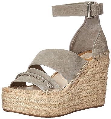 76aab868da0e Amazon.com  Dolce Vita Women s Simi Espadrille Wedge Sandal  Shoes