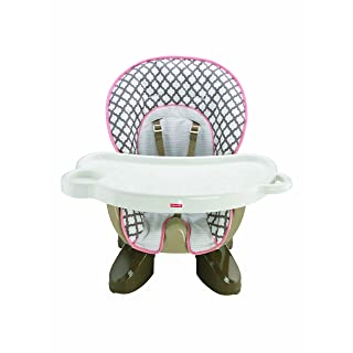 Fisher-Price Spacesaver High Chair, Chocolate Cloud