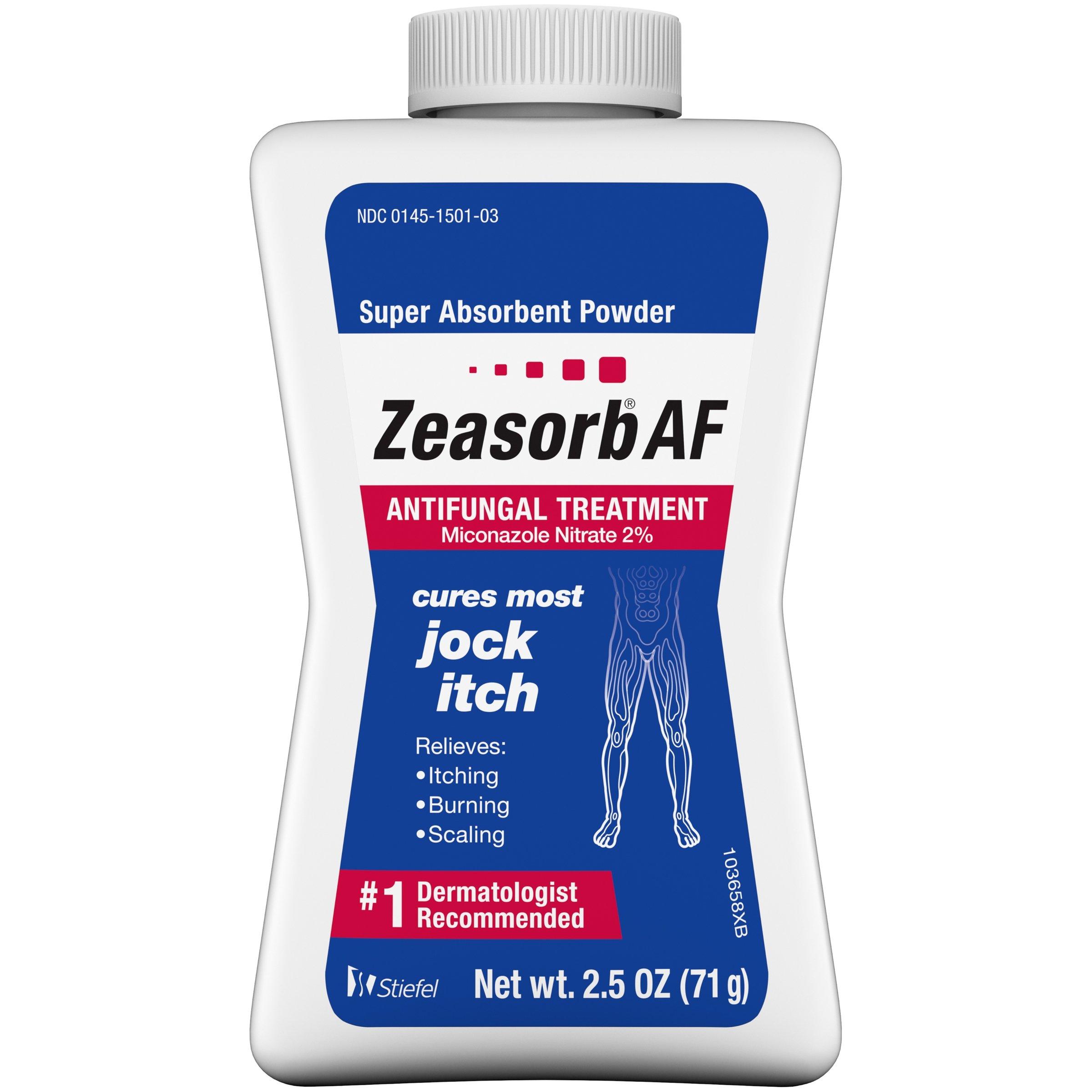 Zeasorb Jock Itch, 2.5 Ounce