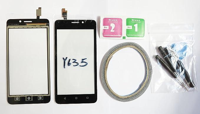 2 opinioni per JRLinco per Huawei Ascend Y635 schermo di vetro, parte di ricambio display
