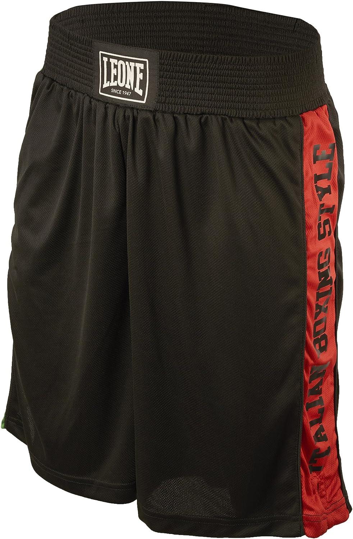 L Black Adult Leone 1947 Boxing Shorts Unisex