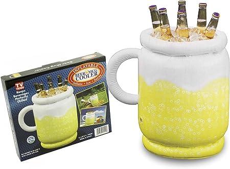 Amazon.com: Hinchable enfriador de taza de cerveza: Jardín y ...