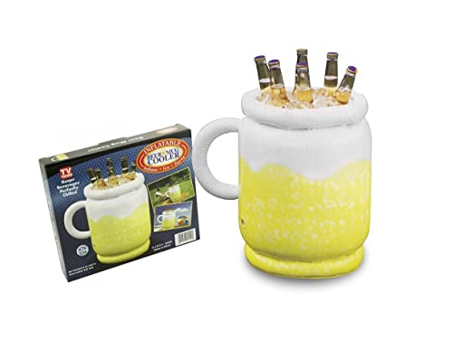 Hinchable Jarra De Cerveza Refrigerador: Amazon.es: Jardín