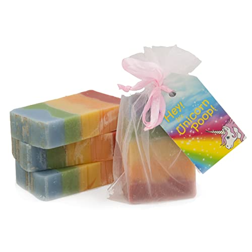 Unicorn Poop Soap : a magical sparkly sweet-smelling treat for the unicorn-lover in your life