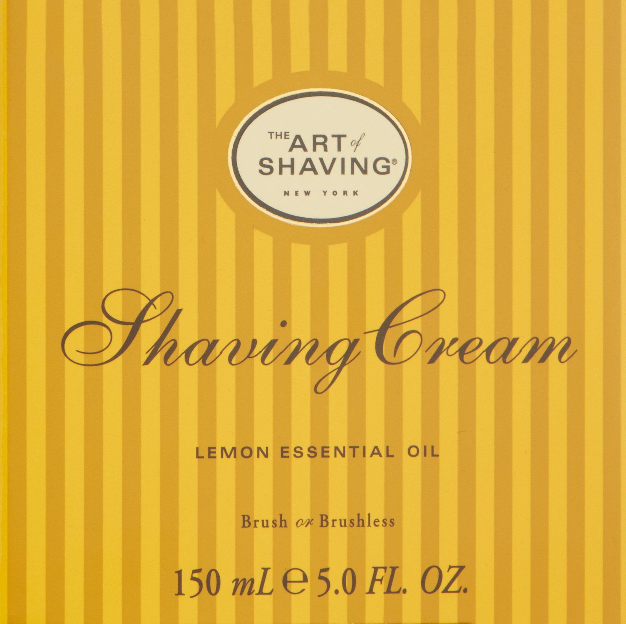 The Art of Shaving Shaving Cream, Lemon, 5 fl. oz. by The Art of Shaving (Image #3)
