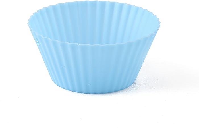 Moldes de Horneado Silicona - Tazas Moldes para Magdalena Cupcake ...