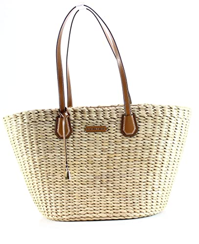 a127006d05f3 Amazon.com: Michael Kors Malibu Large Woven Straw Natural Acorn Tote Bag:  Shoes