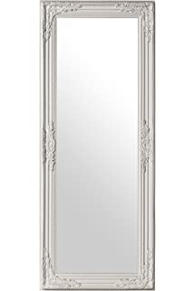 mirror 40 x 60. premier housewares chic vintage wall mirror, 100 x 40 cm - white mirror 60