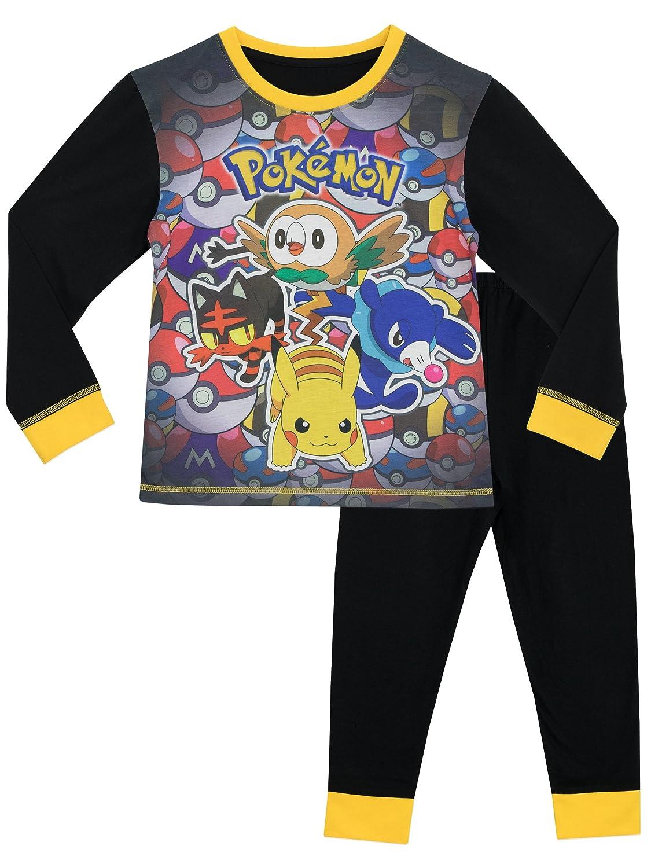 Pokemon Boys Pyjamas Ages 5 to 12 Years