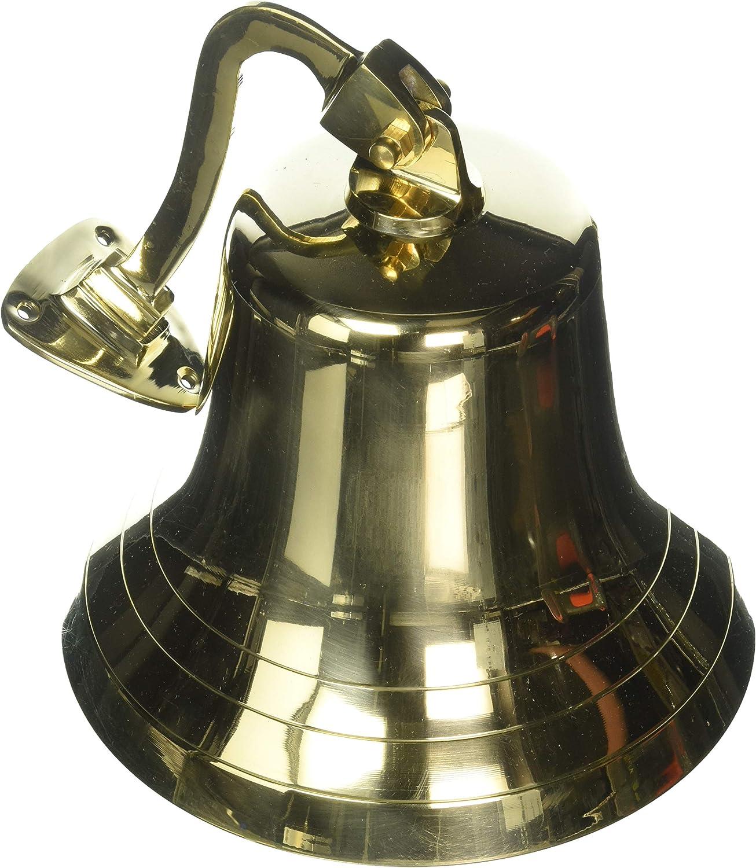 10 Polished Brass Dinner Bell Nautical Decor