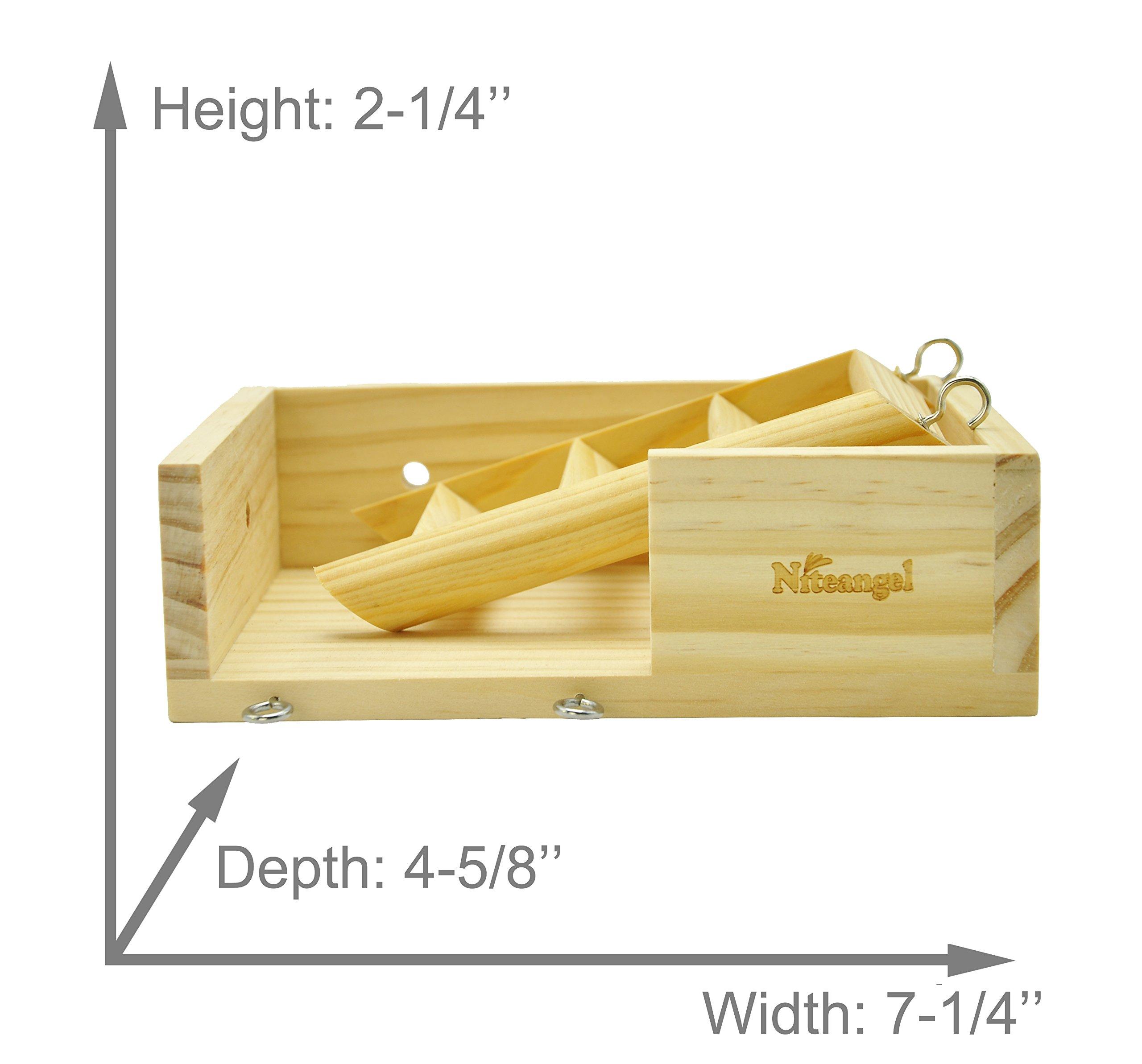 Niteangel Small Animal Wooden Platform, Climbing Kits by Niteangel (Image #1)