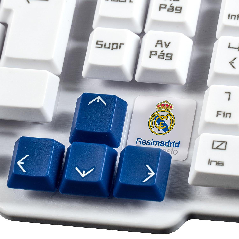 Mars Gaming MKRM - Teclado de membrana del Real Madrid, antighosting, USB: Amazon.es: Informática