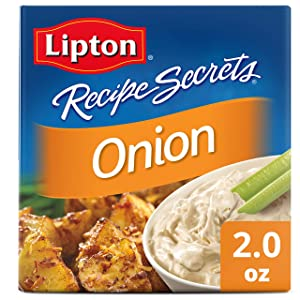 Lipton Recipe Secrets Soup and Dip Mix, Onion Flavor, 2 oz 2 Count