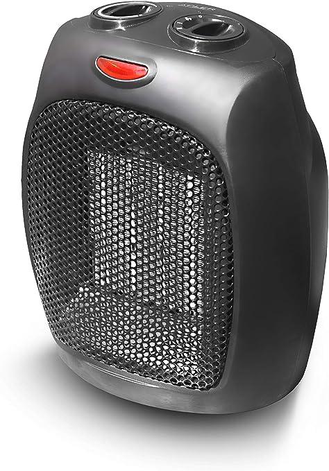 Opinión sobre Adler AD 7702 Calefactor ceramico, 750 W, plastico, Acero Inoxidable