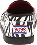 Skechers Kids 85067L Bobs World III Slip On,Zebra,5 M US Big Kid