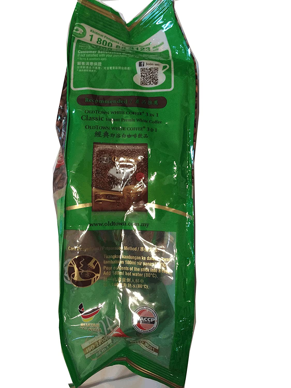 Amazon Oldtown White Coffee Hazelnut Old Town 3 In 1 Classic Kopi Klasik 40gx15 Sachets 600g