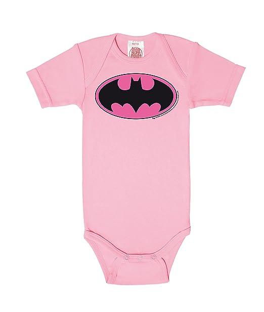 Logoshirt Body para bebé Batman Logotipo Rosa - DC Comics - Batman Logo  Pink - Pelele para bebé - Rosa - Diseño Original con Licencia  Amazon.es   Ropa y ... eb369a5657b