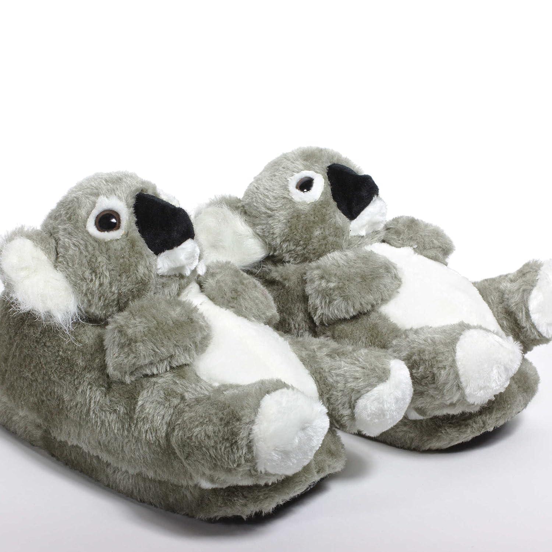 Sleeper'z - Koala - Chaussons animaux peluche - Homme Femme Enfant - Cadeau original Sleeper' z