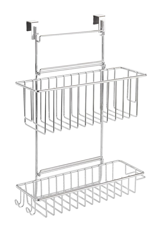 Wenko 818110 Küchenschrank Einhängregal- mit 2 Ablagen, verchromtes ...